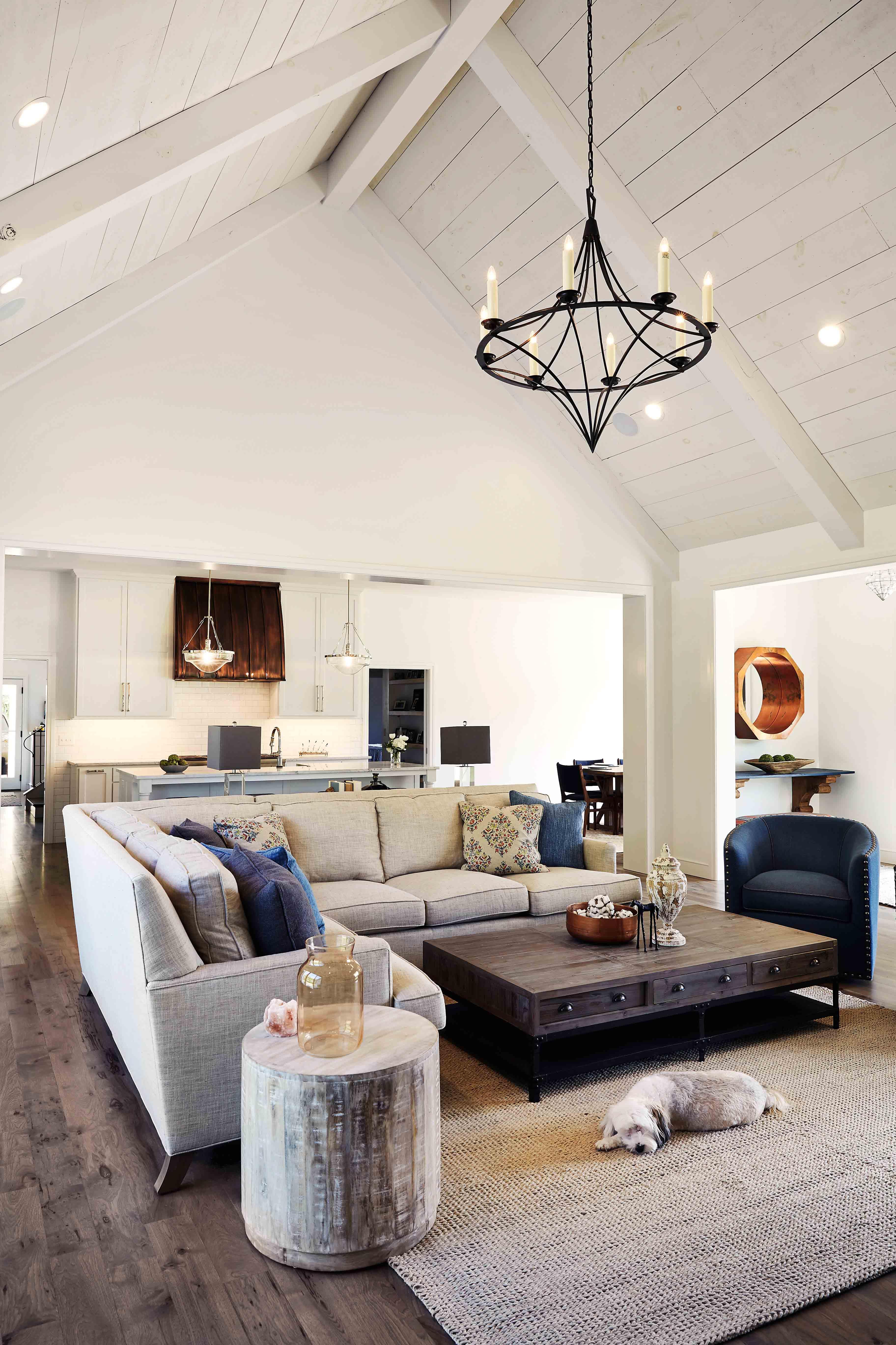 Namaste living room Rhoads Design amp Construction